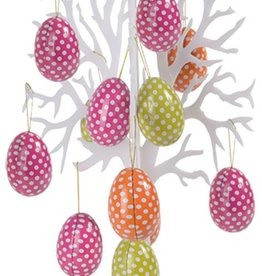 Decoration Easter egg tree with eggs