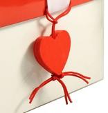 Heart charm - 2,5 * 2 cm - 50 pieces