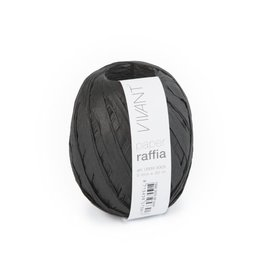 Paper Raffia - Black - 6 Rolls