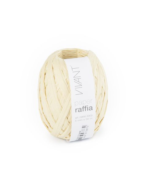Paper Raffia - Beige - 6 Rolls