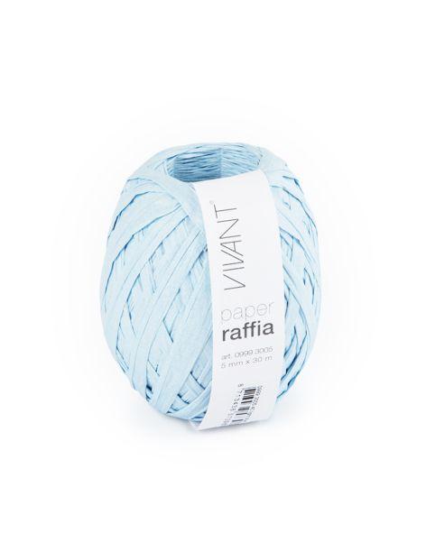 Paper Raffia - Light Blue - 6 Rollen