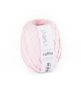 Paper Raffia - Rose - 6 rollen