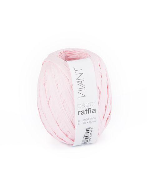 Paper Raffia - Rose - 6 rollos