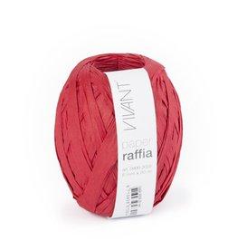 Paper Raffia - Red - 6 bobines