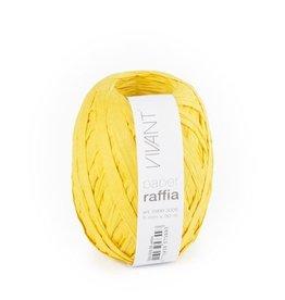 Paper Raffia - Yellow - 6 rollen