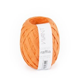 Paper Raffia - Orange - 6 bobines