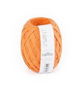 Paper Raffia - Orange - 6 rollen