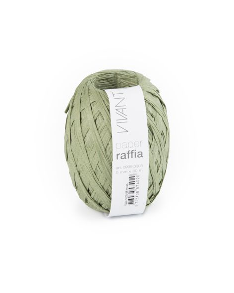 Paper Raffia - Moss - 6 Rollen
