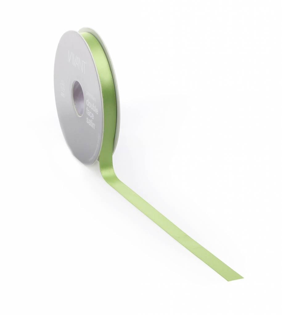 Double Face Satin ruban - Spring Green