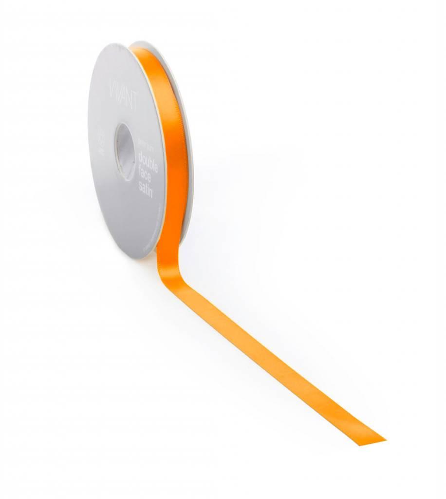 Double Face Satin Band - Orange