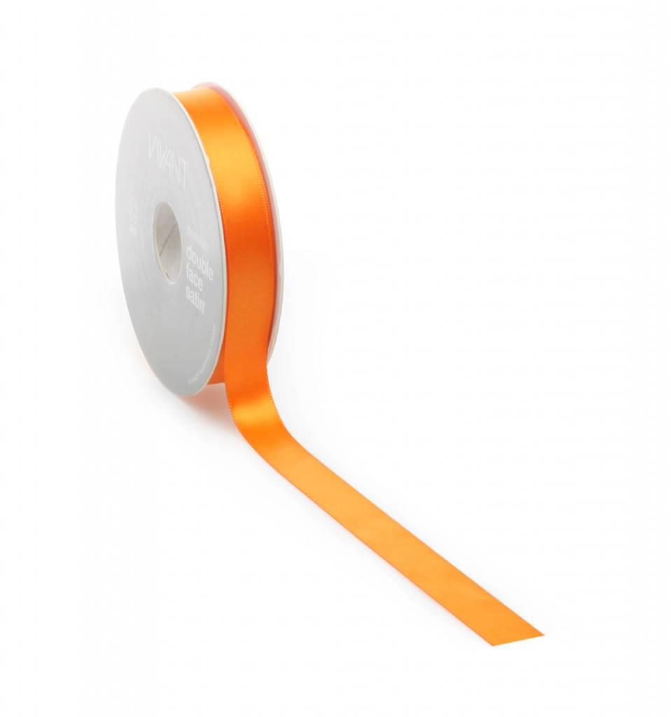 Double Face Satin ribbon - Orange