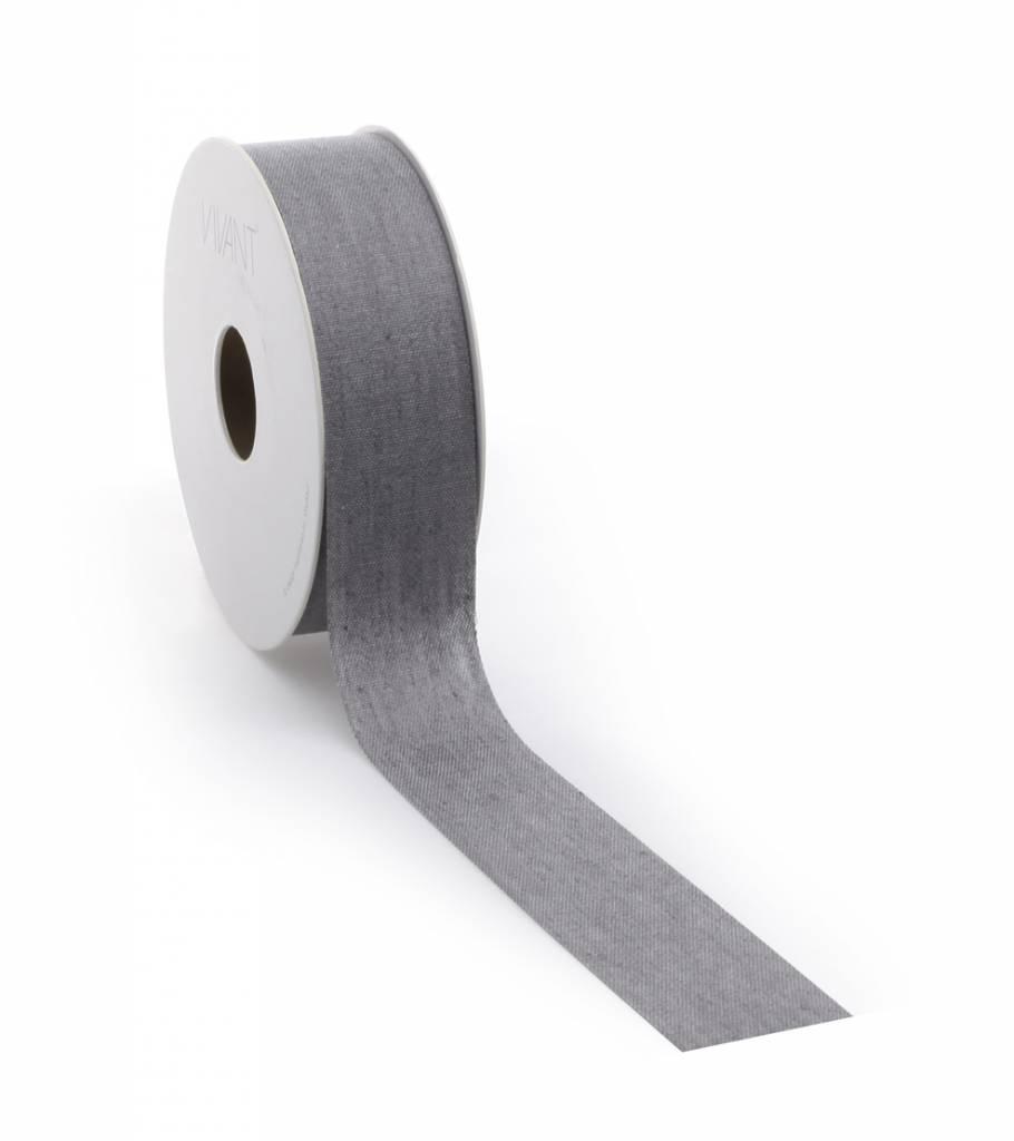 Denim ruban - Grey