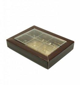 SixBox - Braun - 100 Stück