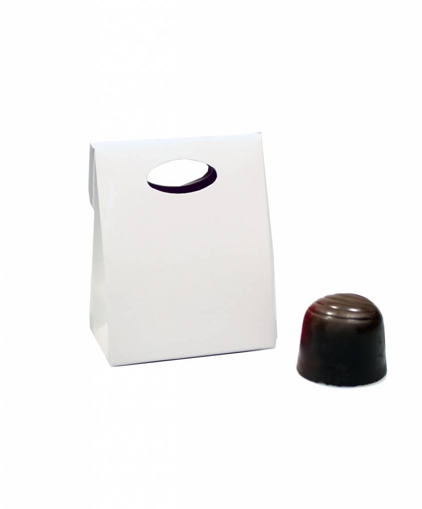 FunBox - blanc - 65*37*80mm - 100 pièces