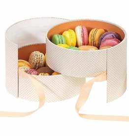 Macaron Schachtel Elisa - 6 Stück