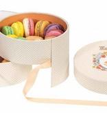 Macaron doosje Elisa - 6 stuks