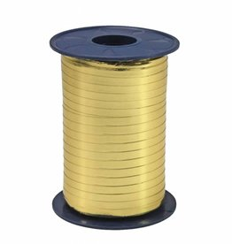 Ribbon curly - Gold Metallic