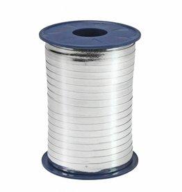Ribbon curly - Silver Metallic