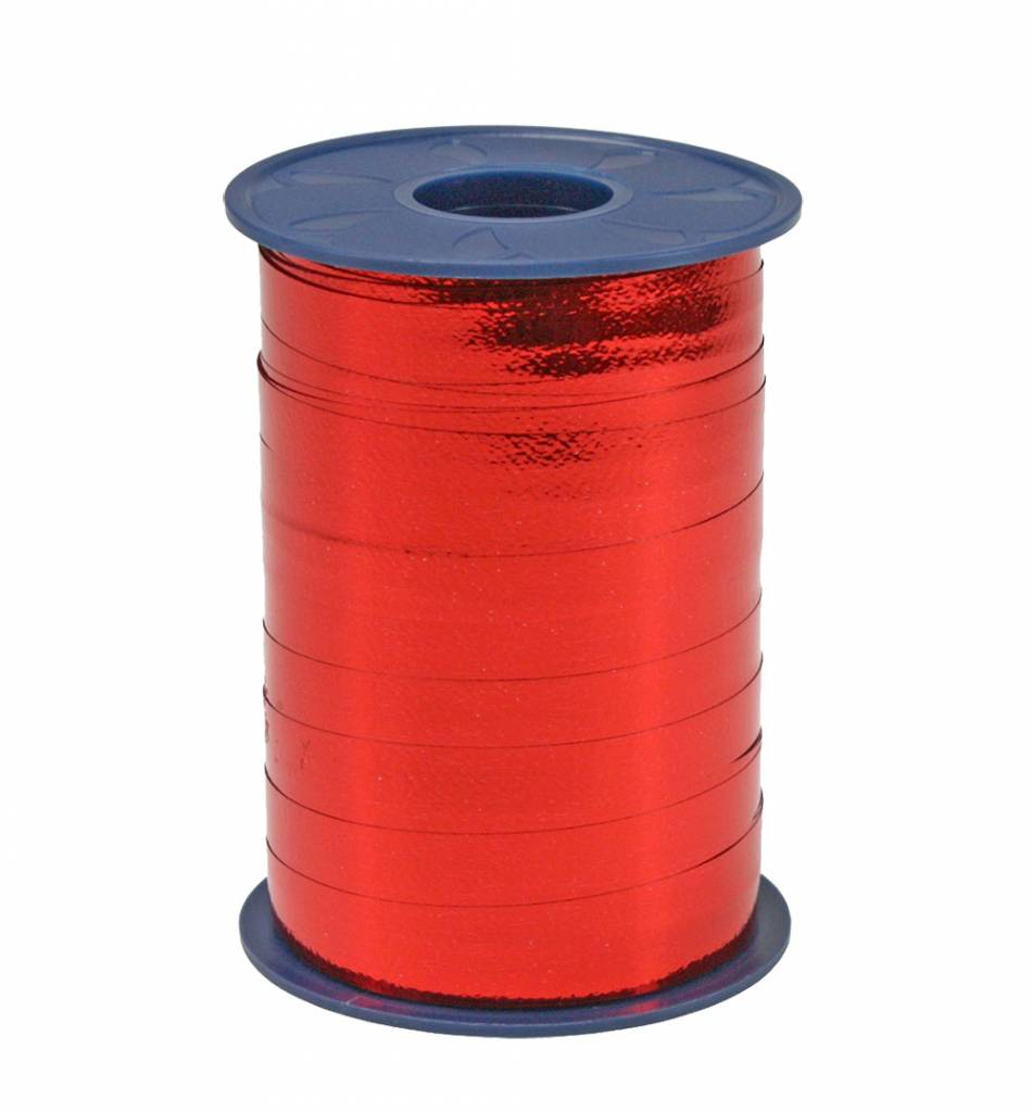 Ringelband - Rot Metallic