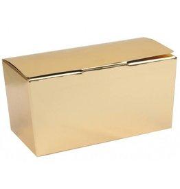 Ballotin Shiny Gold/White - 50 pieces
