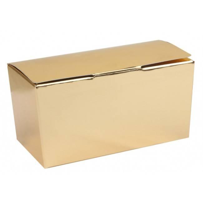 Ballotin Glänzend Gold/Weiss - 50 Stück