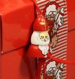 Lucky charm Saint Nicholas - 25mm -50 pieces