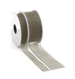 Flow lint met draad - Platin