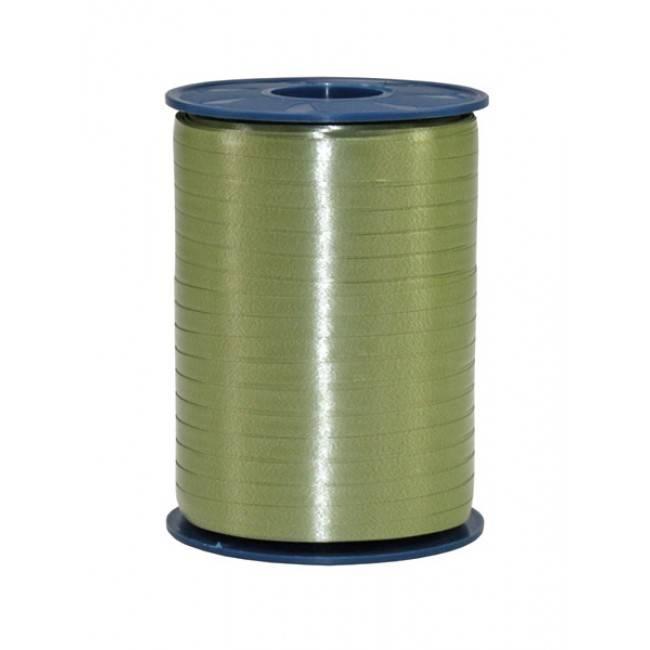 Ribbon curly - Moss-green