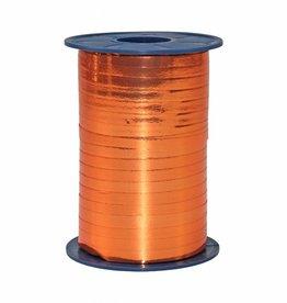Ribbon curly - Orange Metallic