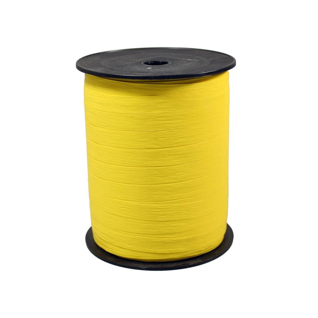 Krullint - geel Paper Look