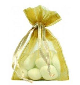 Organza Bag - Gold - 50 pieces