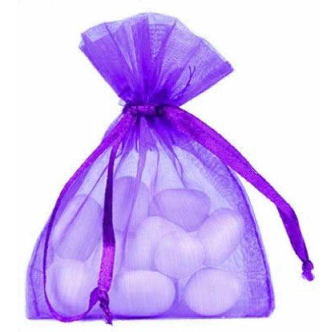 Organza Bag - Purple - 50 pieces