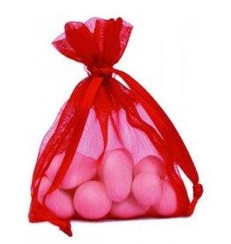 Organza Bag - Red - 50 pieces