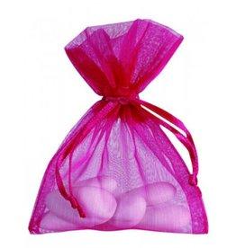Organza Bag - Magenta - 50 pieces