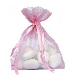 Organza Bag - Pink - 50 pieces