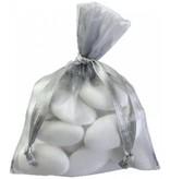 Organza Sachet - gris - 50 pièces