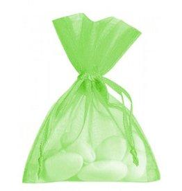 Organza zakjes - limoen - 50 stuks