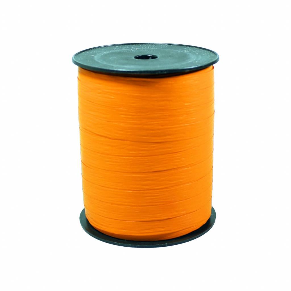 Krullint - oranje Paper Look