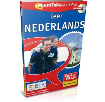 Eurotalk World Talk Leer Nederlands voor Gevorderden - Cursus Talk Nederlands
