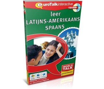 Eurotalk World Talk Cursus Latijns Amerikaans Spaans voor Gevorderden - World Talk leer Latijns Amerikaans Spaans