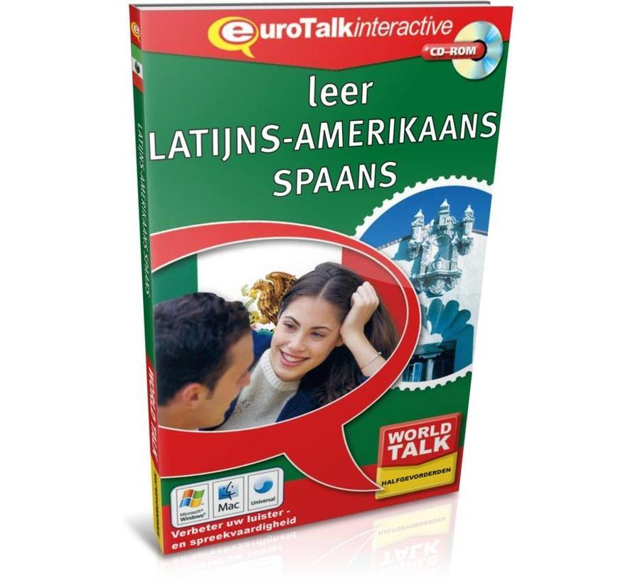 Cursus Latijns Amerikaans Spaans voor Gevorderden - World Talk leer Latijns Amerikaans Spaans