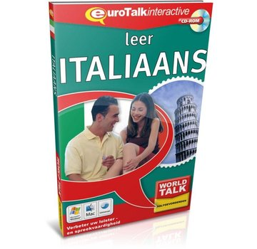 Eurotalk World Talk Leer Italiaans voor Gevorderden - Cursus world talk Italiaans
