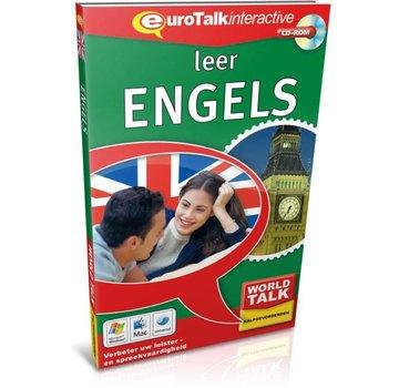 Eurotalk World Talk Leer Engels voor Gevorderden - Cursus world talk Engels