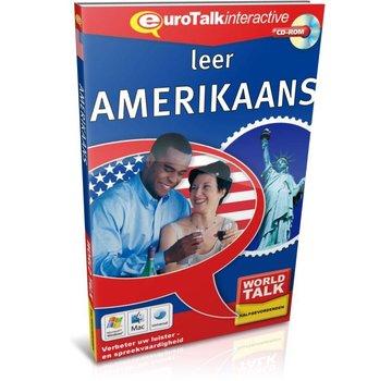 Eurotalk World Talk Amerikaans Engels voor Gevorderden - Leer Amerikaans Engels (CD)