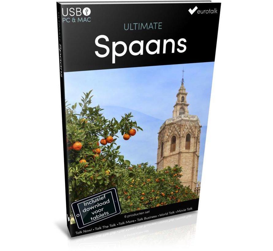 Spaans leren - Ultimate  Spaans voor Beginners tot Gevorderden
