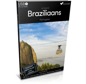 Eurotalk Ultimate Braziliaans Portugees leren - Ultimate Braziliaans Portugees voor Beginners tot Gevorderden