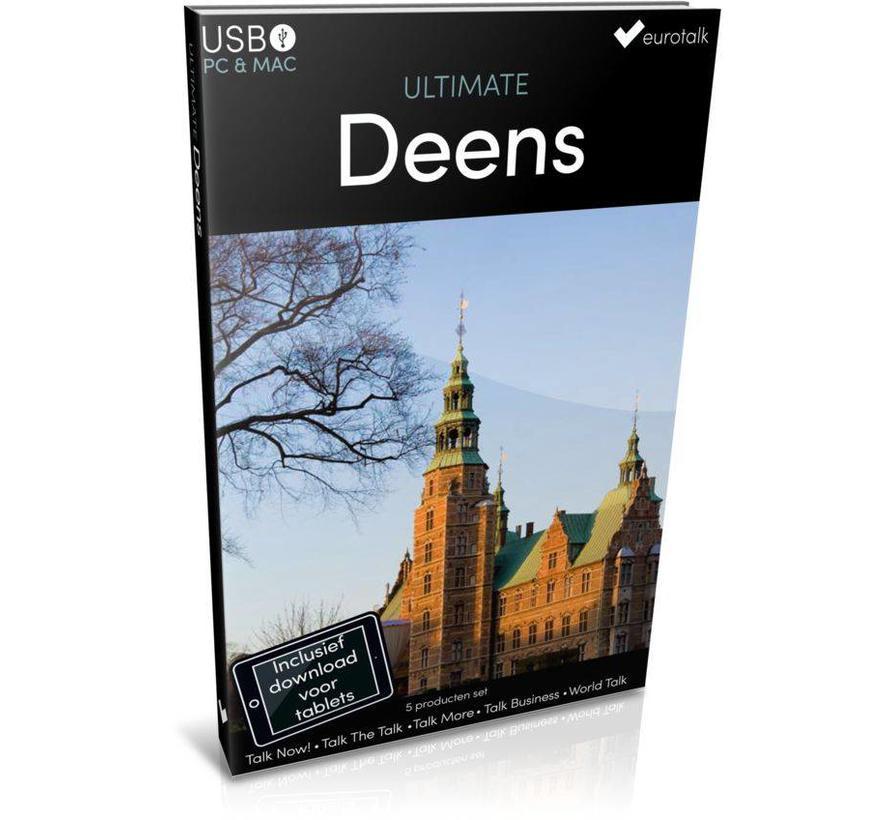 Deens leren - Ultimate Deens voor Beginners tot Gevorderden