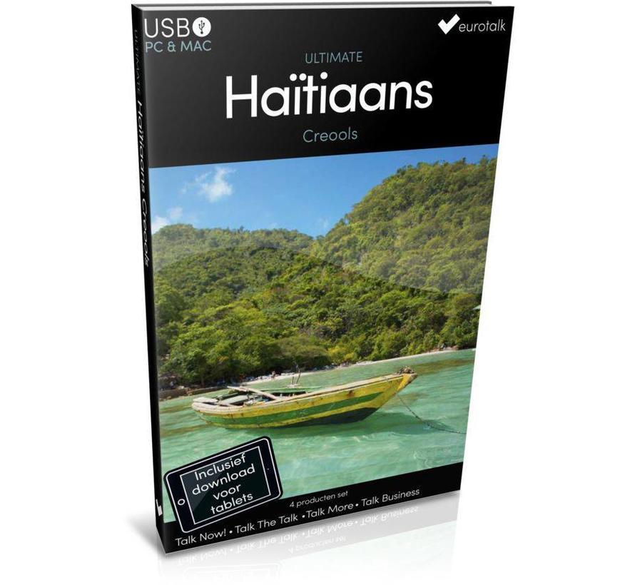 Haïtiaans Creools leren - Ultimate Haïtiaans Creools voor Beginners tot Gevorderden