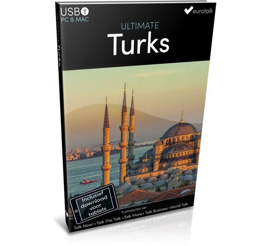 Turks leren - Ultimate Turks voor Beginners tot Gevorderden
