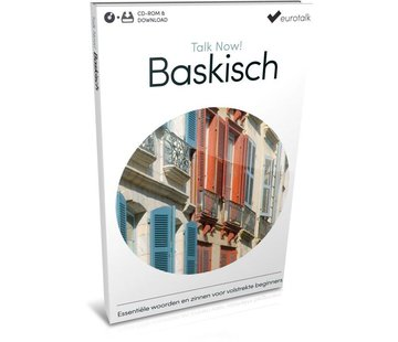 Eurotalk Talk Now Talk Now - Basis cursus Baskisch voor Beginners